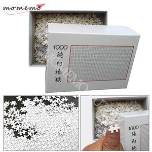 게임 어린이 어린이 교육 완구 Y200421 퍼즐 성인을위한 MOMEMO 화이트 지옥 직소 퍼즐 1000 개 조각 나무 조립 퍼즐