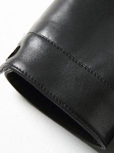 Genuine Leather Jacket Men Sheepskin Coat Motorcycle Jacket Man Short Leather Coats Men Blouson Cuir Homme 1513 KJ1445