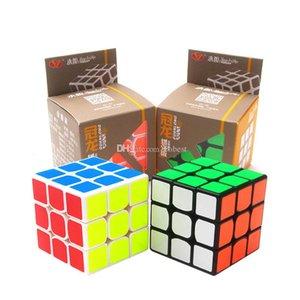 Magic Cube Speed Professional Cubo di Rubik Twist Giocattoli 2 colori 3x3 puzzle classico magia giocattoli per adulti e per bambini giocattoli educativi