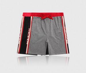 Erkek Tasarımcı Yaz Şort Pantolon Moda 4 Renkler Baskılı İpli Şort 2019 Relaxed Homme Lüks Sweatpants