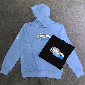 2020SS spring and autumn new Travis Scott Cactus Jack Stormi 2 Party Blue Hoodie tie dye sweater hoodie ladies sweatshirt