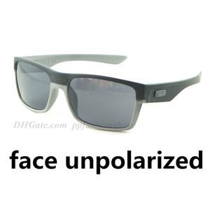 Nueva TWOFFACE vidrios coloridos al aire libre gafas de sol deportivas de conducción a prueba de viento UV400 1079 gafas de sol de la lente siameses 9 colores no polarizada