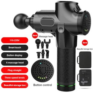 Electric Vibrating Fascia Gun Muscle Relaxation Massager Hand-held Deep Muscle Massager Fitness Equipment Sports Soreness Relief
