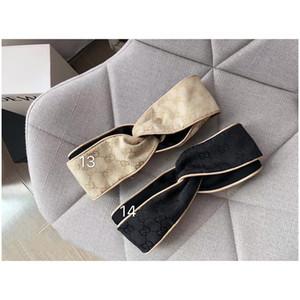 2020 Silk-Kreuz-elastische Stirnband Frauen Mädchen Luxus-Haarbänder Bee Stern Glänzend Schal Haar-Accessoires Geschenke heißen Verkauf-beste quanlity