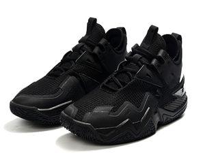 New Westbrook One Take PF Triplo Black Men tênis de basquete com a caixa Westbrook One Take PF Why Not preto Sneakers