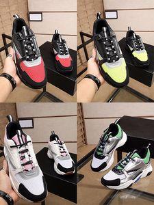 B22 sapatilha amarela Knit Cinza Homens sapatos de couro Mulheres Tripler Sneaker Moda Luxo Mulheres Vintage calçados casuais Estrela B22 Shoes Atacado