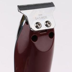 5 série Star Professional Hair Clipper Todos Metal Homens Elétrica Cabelo Cordless Trimmer 0 milímetros careca T Lâmina Finish Haircut Máquina