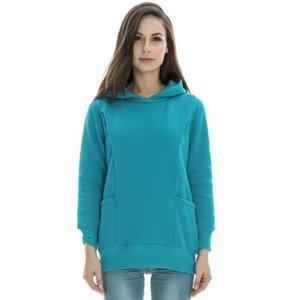 Top-Qualität für schwangere Frauen 2in1 Schwangerschaft und diskret Nursing Hoodie Top Bequemes Stillen New Autunm Winter warme Kleidung