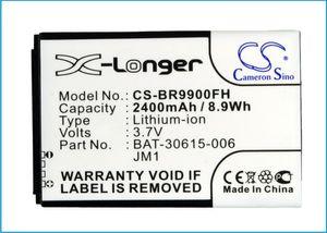 Cameron Sino Alta Qualidade 2400mAh Bateria BAT-30615-006, JM1 para BlackBerry Bold 9900, Bold Touch 9900