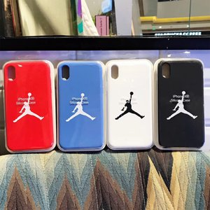 Casi JDBrand silicone originale per metà iPhone 6 7 8 6S Inoltre silicone liquido spostato la cassa per l'iPhone X XR XS Max con Package