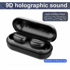 L13 سماعات لاسلكية بلوتوث 5.0 سماعة TWS HIFI البسيطة في الأذن الرياضة تشغيل سماعة دعم دائرة الرقابة الداخلية / هواتف أندرويد HD نداء