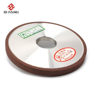 125mm Resina Bond FALT forma Diamond Flat Disc Grinding Wheel Grinder espesor 6/8 / 10mm Plain Tipo de 150Grit 75%