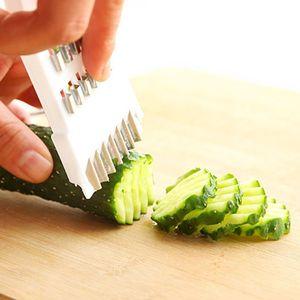 Pepeneuse en acier inoxydable Slicers Manuelle Slicers Coupeur Couper Couper Végétal Léguminet Déchiqueteuse Slicer Cuisine Accessoires T2I5670