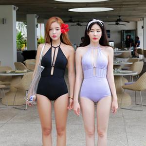 Купальники Женщины One Piece Май Женский пляж купальник Женщина плавленый Swim Wear Commerce Pure Color New Solid полиэфирная Sierra Surfer