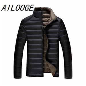 5XL 6XL 7XL 90%White Duck Down Jacket Winter Warm Jacket Coat Men's Thin Ultralight Down Jackets Men Outwear Coats