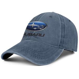 سو بارو شعار 2001 رمز شعار للجنسين الدنيم قبعة بيسبول المجهزة شخصية القبعات uniquel الاكسسوارات البيضاء WRX للبيع سيارة الشعار الوردي