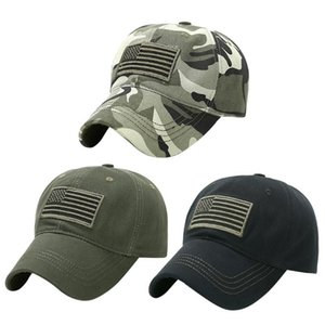 Baseball cap Men Women Unisex Outdoor Camouflage Trucker Special Tactical Operator Forces USA Flag Patch Hat Peaked cap Visors