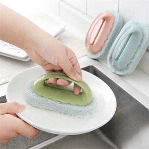 WC fort Décontamination bain Brosse éponge carreaux Pinceau magique chaud Vente forte Décontamination de bain Outils Brosse cuisine propre