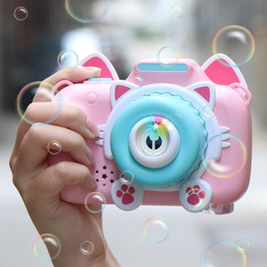 New Music Camera Automatic Bubble Machine Gun Soap Bubble Blower Outdoor Kids Child juguetes brinquedos Toy for Kids#g2