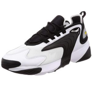 2020 الاحذية تكبير M2K الرجال النساء Tainers 2K تيكنو 2000 أحذية الثلاثي أسود أبيض رمادي داكن الرياضة أحذية رياضية