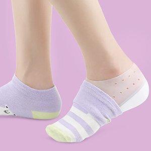 Invisibile aumento di altezza del sottopiede, Wearable dell'ammortizzatore del tallone inserti di scarpe morbido silicone sollevamento del tallone sottopiede Leg Allungare per gli uomini e Wom