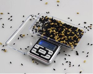 Digital Scales Digital Jewelry Scale Gold Silver Coin Grain Gram Pocket Size Mini Electronic backlight 100g 200g 500g fast shipment