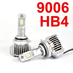 1 компл. 9006 HB4 LED P12 Автомобильная светодиодная фара Super Bright 0,72MM Ультра тонкая, не слепая, с водителем Turbo Fan Передние лампы Лампа 6K Белая 90W 13000LM