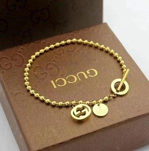 concepteur de marque de luxe femmes bijoux bracelets V dames bracelet classique charme braccialetto gucci Bangle Pulseira de luxo