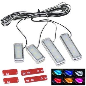 1set Atmosphäre Lampen-Lichtinnen Auto dekorative Innentür Schüssel Wrists Umgebungslicht Auto-Tür-Armauflage Beleuchtung Innenbeleuchtung