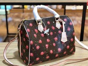 Moda in pelle femminile Vecchio fiore del cuscino inclinato Tracolla Leboy borsa di lusso Designer Trend Joker Boston Borse Zaini