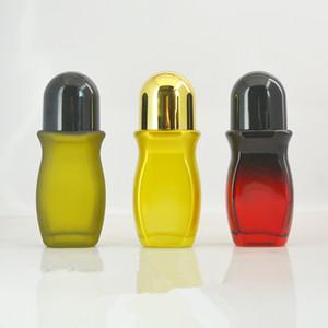 Rotolo di vetro vuoto semplice da 30ml 50ml su rotoli Rotolo di deodorante da viaggio portatile su rotoli di plastica su contenitore F2882