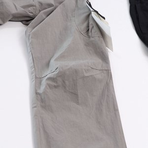 CP topstoney PIRATA COMPANY konng gonng Primavera e verão nova moda marca retro multi bolso macacão correr Leggings20sss dos homens