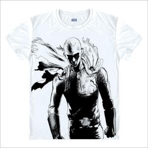 Nueva moda One Punch Man Shirt Hoodies Anime One-punch Man Camiseta Hombre de dibujos animados en 3D Camiseta Genos Saitama Cosplay Camisetas de verano Y19050701