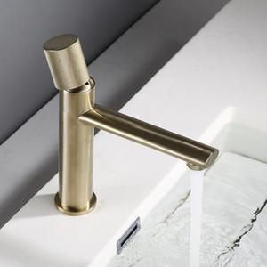 Banyo Seramik Çekirdek Lavabo Musluk Hiç Pas Soğuk Ve Sıcak Banyo Bataryası Tek Mikser Havzası dokunun Sprey Kolu