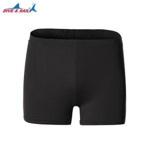 DIVESAIL Trajes de baño Traje de baño Unisex Hombres Mujeres Transpirable Lycra Natación Short Boxer Shorts Traje de baño Ropa de agua