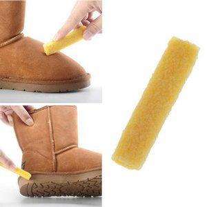 Scarpe gomma gomma per pelle scamosciata Nubuck Stain Boot Shoes Cleaner pulizia nuovo