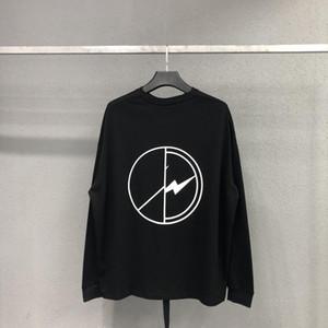 Peaceminusone manches longues T-shirt Homme Femme surdimensionnée FRAGMENTS DE CONCEPTION G-Dragon Meilleure qualité d'été Peaceminusone manches longues
