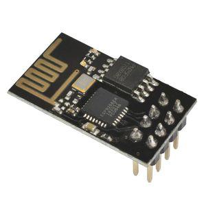 200pcs Yükseltildi sürümü ESP01 ESP8266 seri WIFI kablosuz modül kablosuz alıcı verici ESP01 ESP8266-01
