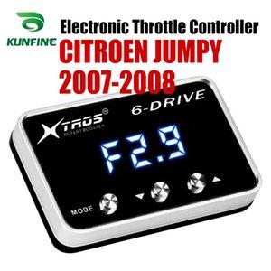 CITROEN JUMPY 2007 2008 Tuning Parça Aksesuar için Araç Elektronik kısma Kontrolörü Yarışı Hızlandırıcı Güçlü Booster