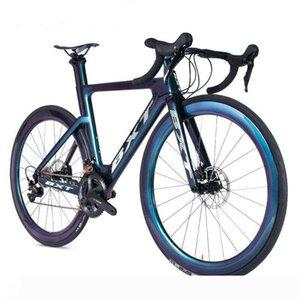 New Full Carbon Road Bike 54cm 49 51 Disco de Drake 11Speed camaleón raza de camino de la bicicleta