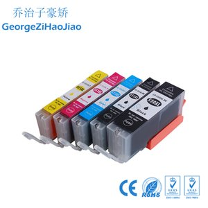 ZH Mürekkep Kartuşları 550 XL 551XL (1 Takım) Canon PGI550 CLI551 iP7250 için Uyumlu MG5450 MG6350 MG6450 MG7150 MX925 yazıcı