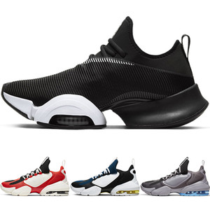 Zoom Superrep HIIT Classe Maratona Mens Running Shoes Bow Sports Jogging Savage Almofada Shoes Black White Women Sneakers AT3378-010 CD3460-01