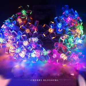 50PCS 주도 여러 가지 빛깔의 요정 문자열 라이트 램프 결혼식 크리스마스 파티 장식 야외 문자열 라이트 램프 빛나는 파티 용품