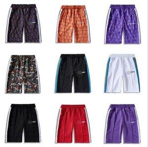2020SS Palm esAngel Tie-Dye Shorts Trend Shorts мужские женские спортивные повседневные брюки полосатые брюки эластичная талия высокое качество 15611