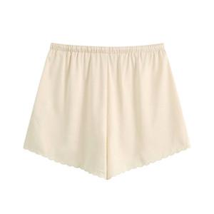Женщины Стильный Chic Цветочные вышитые шорты Урожай высокий эластичный пояс с кулиской Короткие штаны Casual Pantalones Mujer