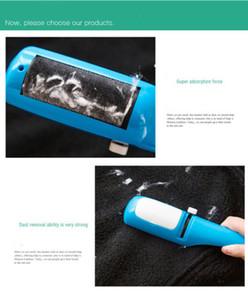 Lint Remover Abbigliamento Sticky Roller Cleaner animali dei capelli della polvere spazzatrice spazzola elettrostatica Static