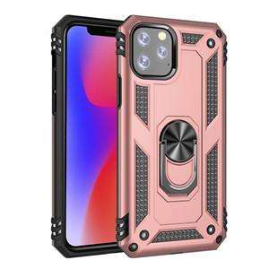 Halka Tutucu Kickstand Darbeye Zırh telefon geri vakası, iphone 11 pro Xs Xr max X 8 7 artı için Vaka kapağı