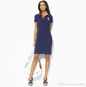 Хорошее качество женщины новые хлопковые летние платья Сад культивировать нравственность платье русалка платье с короткими рукавами поло Вечернее платье