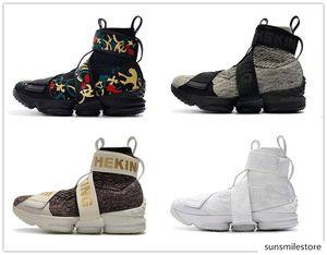 일가 디자이너 스니커즈 3A 놓은 신발을 실행 (15) XV 성능 라이프 스타일 지퍼 스트랩 스포츠 신발 15 초 롱 라이브 왕 남성 X