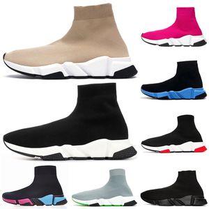 hommes chaussures baskets scarpe sock designer sock shoes 양말 신발 트리플 블랙 화이트 남성 여성 Chaussures 패션 남성 트레이너 러너 플랫폼 운동화